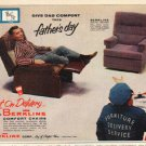 "1961 Berkline Chairs Ad ""Give Dad Comfort""  2710"