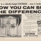 """1961 Electrasol Ad """"see the difference""""  2713"""