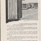 "1962 National Clay Pipe Institute Ad ""Suburbia""  2724"