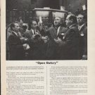 """1962 Members New York Stock Exchange Ad """"Open Outcry""""  2726"""
