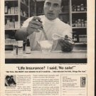 """1962 Mutual of New York Ad """"No sale""""  2739"""