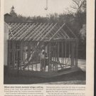 "1962 Travelers Insurance Ad ""When your house sprouts wings""  2744"