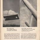 "1962 Braniff International Airways Ad ""17 cities""  2762"