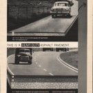 "1962 The Asphalt Institute Ad ""the road requirement""  2763"