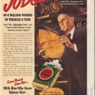 "1938 Lucky Strike Cigarette ""Andy Tilley"" Ad"