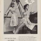 """1959 Peck and Peck ad """"Fun On Land & Water"""""""