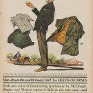"1960 McGregor Sportswear ""Olive-Of-Spain"" Ad"