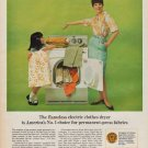 "1967 Edison Electric Institute Ad ""Flameless Electric"""