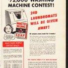 "1953 White King Soap Ad ""Win"""
