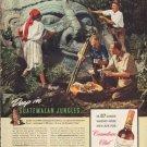 "1938 Canadian Club Whisky ""Guatemalan"" Ad"