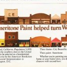"1976 Ameritone Paint Ad ""turn Weed into a flower"""