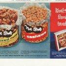 """1958 Nut Shelf Ad """"family treats"""""""