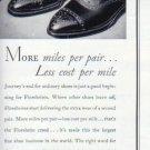 "1937 Florsheim Shoe ""More Miles . . ."" Ad"