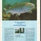 "1976 Oregon Travel Ad ""bathing beauty"""