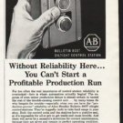"""1962 Allen-Bradley Ad """"Without Reliability Here"""""""