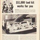 "1953 Standard Oil Company Ad ""tool kit"""