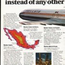 """1976 Mexicana Airlines Ad """"Six reasons"""""""