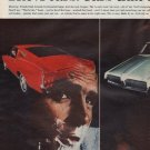 """1967 Ford Centerfold Ad """"The 1/2 Cars"""""""
