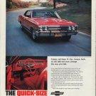 "1967 Chevrolet Chevelle ""Quick-Size"" Ad"