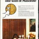 "1976 Masonite Ad ""For small change"""