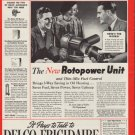 "1937 Delco-Frigidaire Oil Heating ""Rotopower"" Ad"
