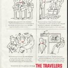 "1958 Travelers Insurance Ad ""Bob Higbee"""