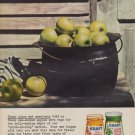 "1960 Kraft Apple Jelly ""Color and Sweetness"" Ad"