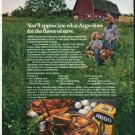 """1976 Argo Corn Starch Ad """"the kind of woman"""""""