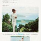 "1964 Tampax Ad ""Fresher than Springtime"""