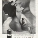"""1958 Chanel Cologne Ad """"For the first time"""""""