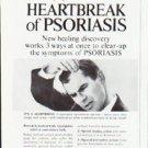 "1963 Tegrin Ad ""Heartbreak of Psoriasis"""