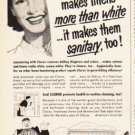 "1953 Clorox Ad ""satisfy me"""