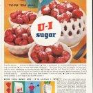 "1961 U and I Sugar Ad ""tops 'em all!"""
