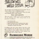 "1953 Fairbanks-Morse Ad ""drudgery or delightful living"""