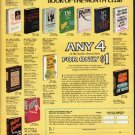 """1976 Book-Of-The-Month Club Ad """"The books America is reading"""""""