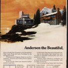 "1976 Andersen Windowalls Ad ""from sea to shining sea"""