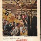 """1962 White Horse Scotch Ad """"Delightful"""""""