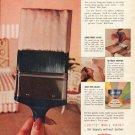 """1961 Du Pont Ad """"Lucite Wall Paint"""""""