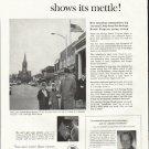 "1961 U.S. Savings Bonds Ad ""Main Street"""