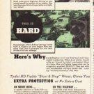 """1953 Tydol Motor Oil Ad """"this is easy"""""""