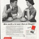 """1958 American Fore Loyalty Group Ad """"worth a lot more"""""""