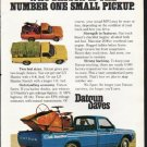 """1976 Datsun Ad """"Some Strong Reasons"""" ~ (model year 1976)"""