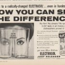"1961 Electrasol Ad ""see the difference"""
