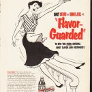 """1953 General Foods Ad """"Flavor-Guarded"""""""
