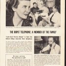"""1953 Pacific Telephone Ad """"The Biby's Telephone"""""""