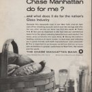 """1962 Chase Manhattan Bank Ad """"what does it do"""""""