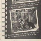 "1961 Anchor Fence Ad ""Safest playground"""