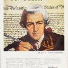 "1963 John Hancock Mutual Life Insurance Ad ""a lesson"""