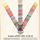 "1962 Monsanto Ad ""satellite radios"""