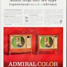 "1964 Admiral TV Ad ""three new major improvements"""